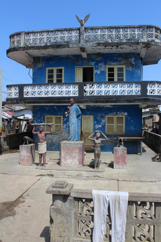Asafo Posuban shrine at Elmina