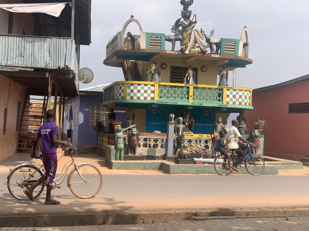 Mankessim Asafo Posuban shrine Ghana