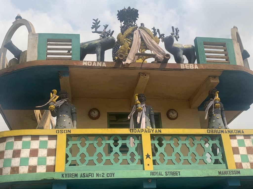 Asafo Posuban shrine Mankessim Ghana